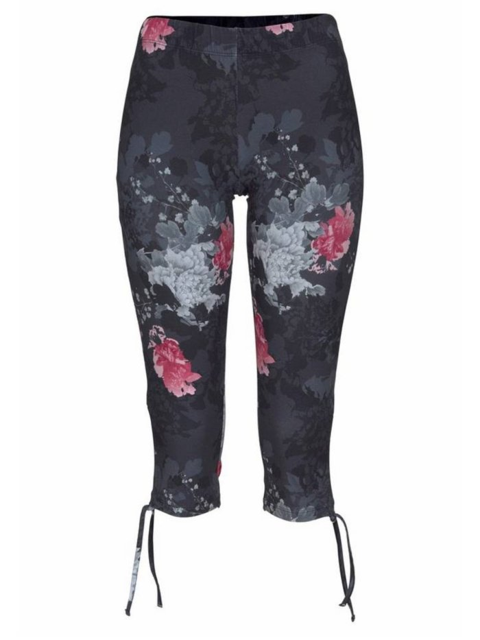 Casual Sports Plus Size Printed Pants