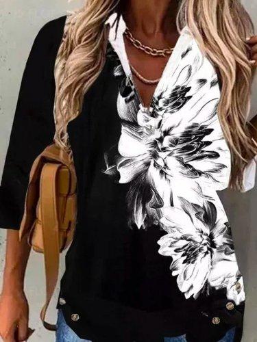 Casual Long Sleeve Shirts & Tops Women fashion blouses