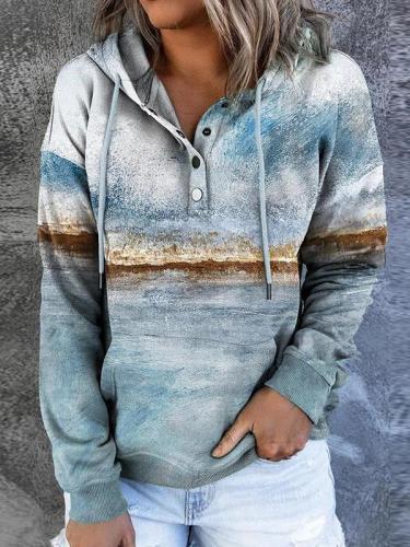 Casual Shift Hoodie Sweatshirts for Women