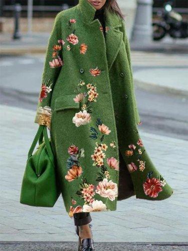 Cotton Casual Outerwear