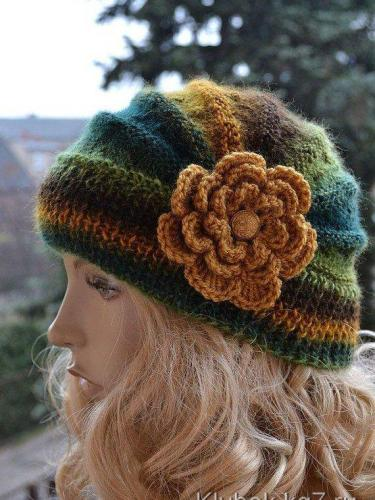 Fashion women warm Knitted hat