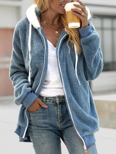 Long Sleeve Hoodie Outerwear