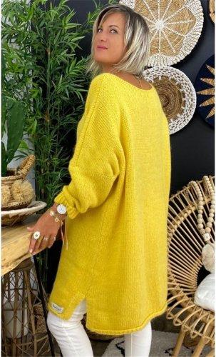 Warm Round neck plain basic long sleeve long sweaters