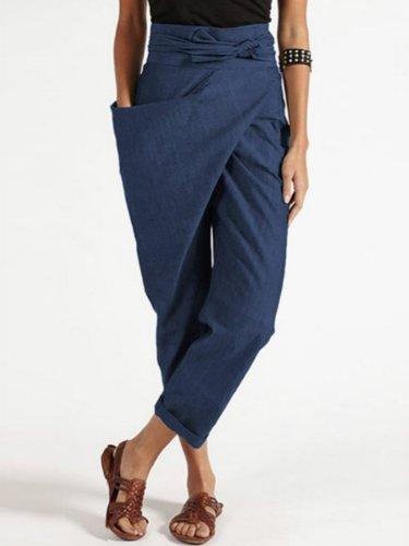 Casual Pants plain fashion stylish long pants