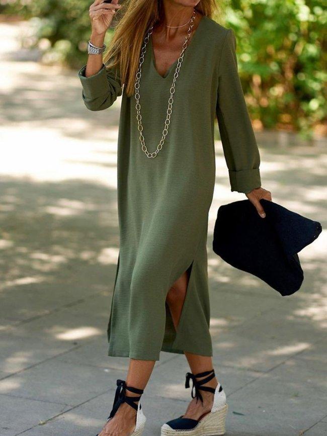 Plain Elegant Dresses