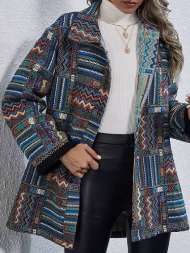Casual Tribal Outerwear