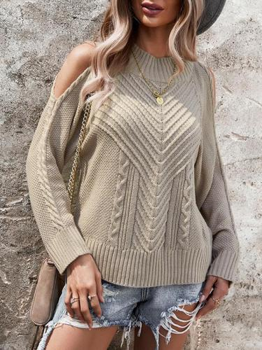 Winter sweaters round neck off should fashion sweaters