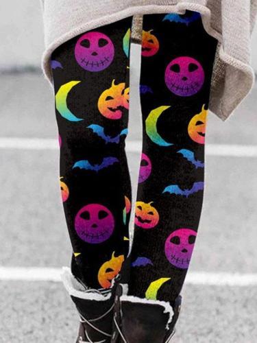 Halloween Christmas Print Leggings