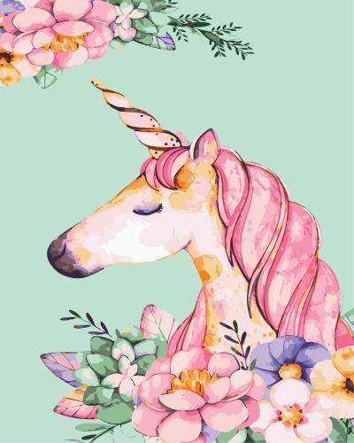 2021 Unicorn Diy Paint By Numbers Kits Uk WM379