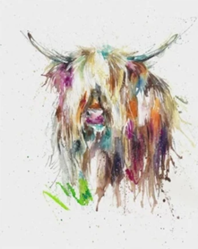 2021 Colourful Bull Diy Oli Paint By Numbers Kits For Kids UK VM95988