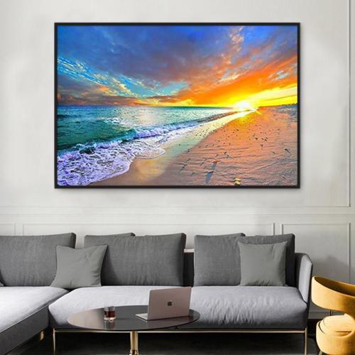 2021 Best Hot Sale Landscape Sea Paint By Numbers Kits UK VM95760