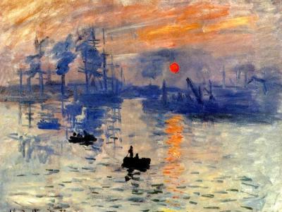 2021 New Arrival Claude Monet's Sunrise Diy Paint By Numbers Kits Hot Sale Uk VM91258
