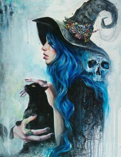2021 New Arrival Hot Sale Skull Girl Paint By Numbers Kits Uk VM92390