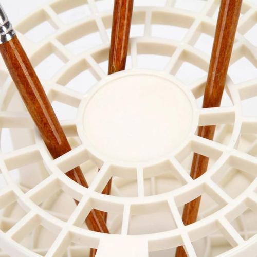 12.5*14.5 cm Wood Multifunction Beige DIY Assembly Pen Holder UK AT1220