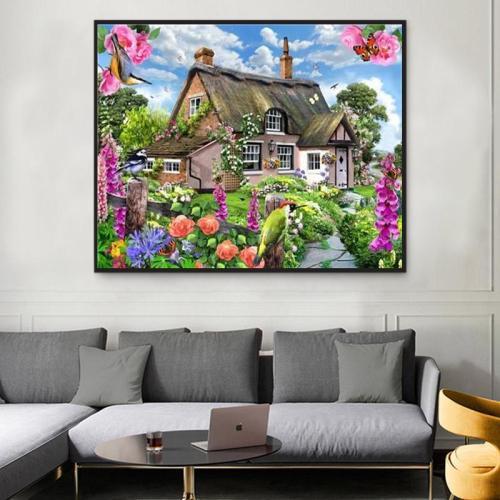 2021 Hot Sale Landscape Diy Paint By Numbers Kits Uk Y5714