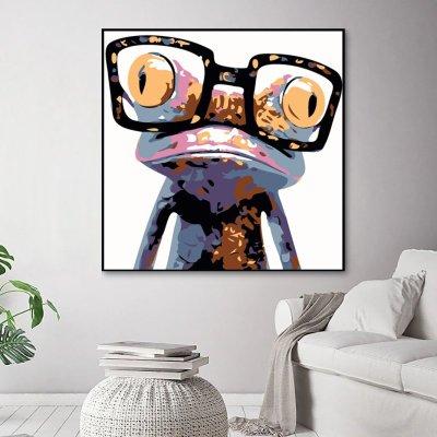 2021 Cartoon Frog Animal Diy Paint By Numbers Kits UK WH2012