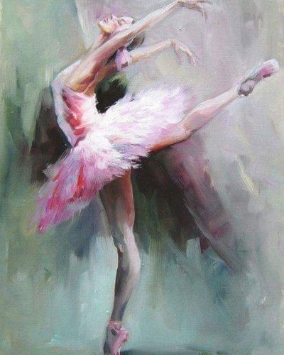 2021 New Arrival Hot Sale Beautiful Dancer Diy Paint By Numbers Kits UK VM94131