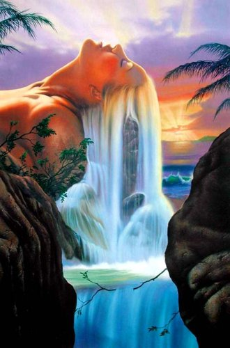 2021 Fairy Waterfalls Diy Paint By Numbers Kits Uk VM90926