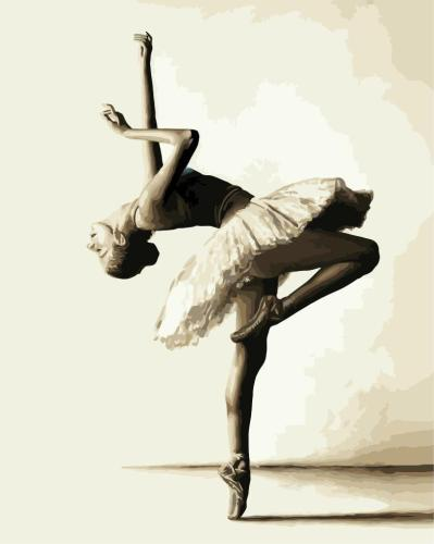 2021 Modern Art Dancer Diy Paint By Numbers Kits Hot Sale Uk WM002