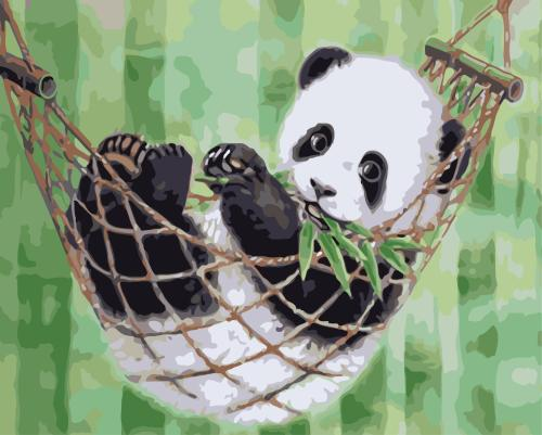 2021 New Hot Sale Panda Paint By Numbers Kits WM126