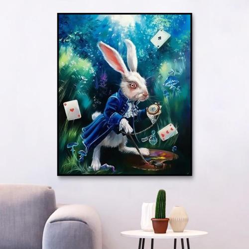 2021 Best Fantasy Style Animal Rabbit Paint By Numbers Kits Uk XQ3991