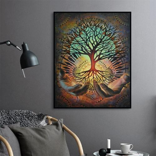 2021 Hot Sale Classic Dream Tree Diy Paint By Numbers Kits Uk VM55230