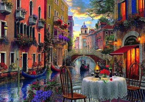 2021 Hot Sale Landscape Diy Paint By Numbers Kits Uk RSB8146