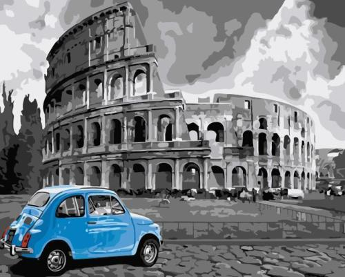 2021 Best Hot Sale Colosseum Diy Paint By Numbers Kits UK WM587