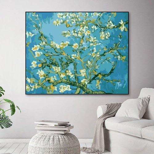 2021 Van Gogh Diy Paint By Numbers Kits Uk QB232