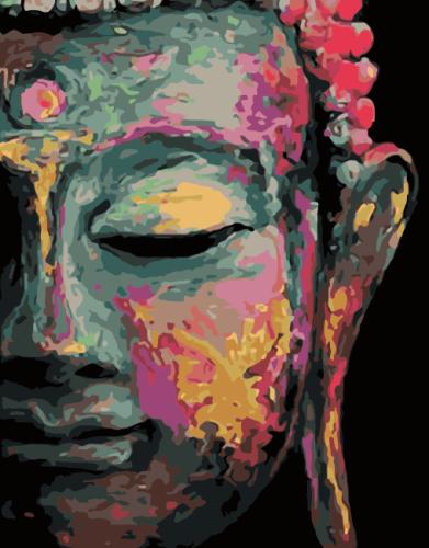 2021 New Art Buddha Diy Paint By Numbers Kits Online Sale Uk WM1630