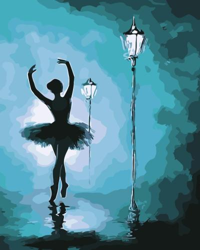 2021 New Arrival Hot Sale Ballet Dancer Paint By Numbers Kits Uk XQ2752