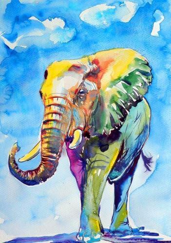 2021 Hot Sale Animal Diy Paint By Numbers Kits Uk RA3254