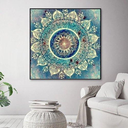 2021 Modern Art Mandala Diy Paint By Numbers Kits UK VM30223