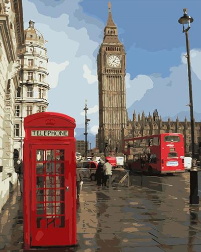 2021 Hot Sale Landscape City Paint By Numbers Uk VM90375