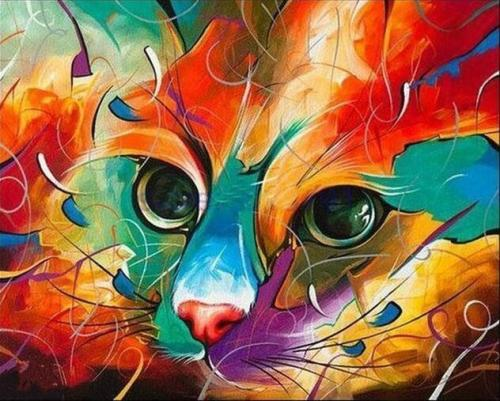 2021 Animal Paint By Numbers Kits Uk NP1562