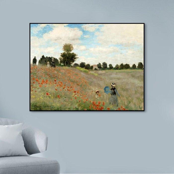 2021 Claude Monet's Beautiful Landscape Diy Paint By Numbers Kits Uk VM91249