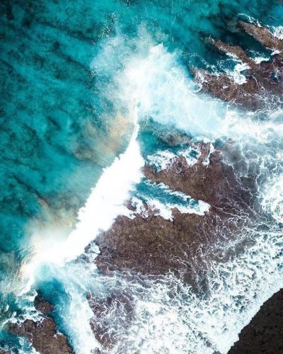 2021 New Arrival Beautiful Blue Sea Landsacpe Paint By Numbers Kits Uk VM92738