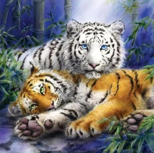 2021 Animal Paint By Numbers Kits Uk NP1630