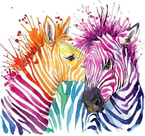 2021 Animal Paint By Numbers Kits Uk NP1618