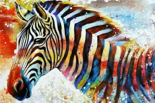 2021 Animal Paint By Numbers Kits Uk NP1616