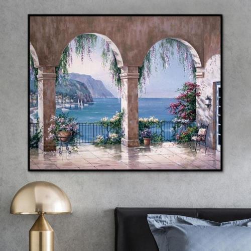 2021 Hot Sale Classic Landscape Paint By Numbers Uk PH9235