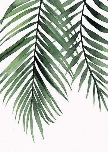 2021 Plant Leaf Diy Paint By Numbers Kits UK VM95894