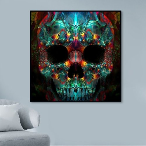 2021 Best Hot Sale Skull Paint By Numbers Kits Uk VM90026