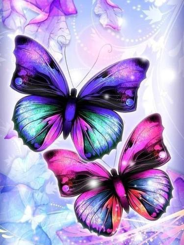 2021 Butterfly Paint By Numbers Kits Uk NP1848