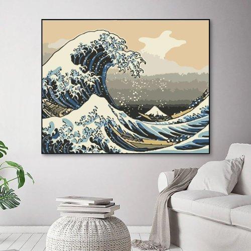 2021 Best Hot Sale Landscape Sea Paint By Numbers Kits Uk WM275