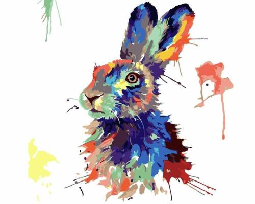 2021 Hot Sale Animal Diy Paint By Numbers Kits Uk HQD1250