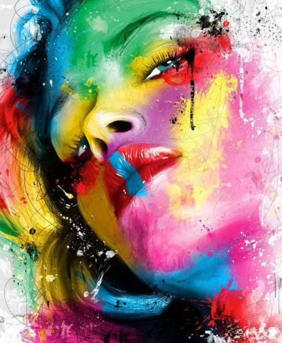 2021 Portrait Diy Paint By Numbers Kits UK VM94133