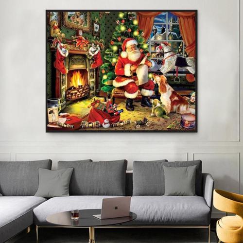 2021 Christmas Series Diy Paint By Numbers Kits Uk VM94656