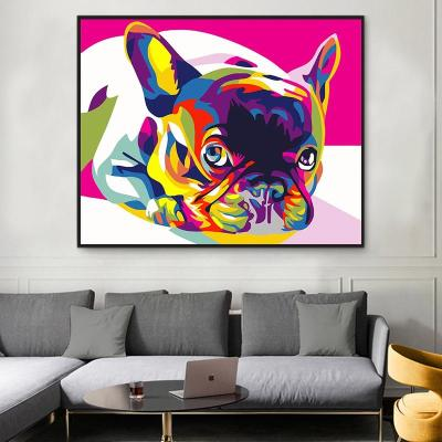 2021 New Hot Sale Colorful Dog Diy Paint By Numbers Kits Uk VM91189