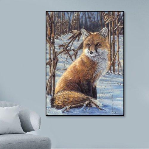 2021 Best Hot Sale Fox Diy Paint By Numbers Kits UK VM95827